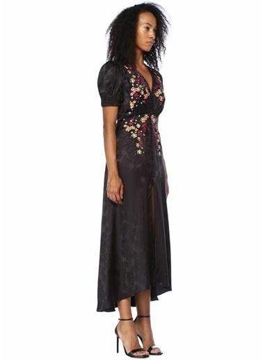 Saloni Elbise Siyah
